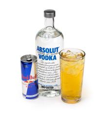 Wodka Energy MischverhäLtnis